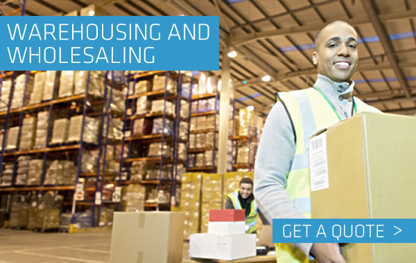 Warehosing and Wholesaling  Insurance from Troon Underwriting